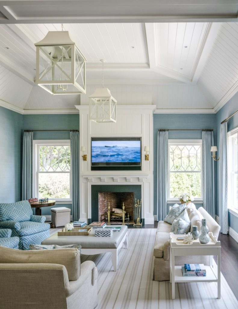 lovely living rooms beadboard | 10 Fireplace Designs We Love | Douglas Vanderhorn Architects
